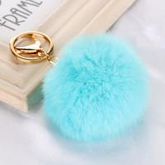 Buy cheap New fancy  Rabbit fur ball /pom pom ball key chain / Small pom pom key chain / Animal pom pon from wholesalers