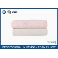 Buy cheap Comfort Children Ventilated Contour Cloud Memory Foam Pillow , Health Cotton Cover Pillow from wholesalers