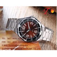 Buy cheap Classic business style watch men watch with stainless steel band from wholesalers