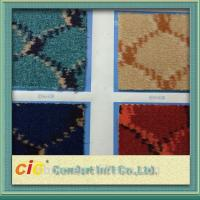 Buy cheap Waterproof Automotive Carpet , Nowoven Carpet Material Hand Tufted Jacquard product