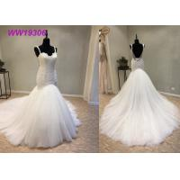 Buy cheap Crystal Beading Mermaid Prom Dresses / Luxury Long Tail Mermaid Wedding Dress from wholesalers