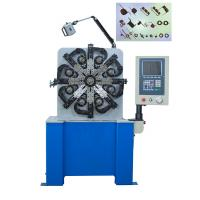 Buy cheap Spring Coiler  & Torsion Spring Winding Machine With Feed Speed 200m / min from wholesalers