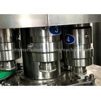 Buy cheap Distilled / Mineral Pet Bottle Filling Machine 5 Spraying Positions Normal Pressure Filling from wholesalers