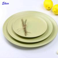 Buy cheap Factory wholesale solid color 8 inch matt green ceramic dinner plate from wholesalers