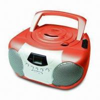 Buy cheap CD Boombox with AM/FM 2-band Radio from wholesalers