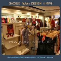Buy cheap hot sale wooden garment display stand for lady's clothes display from wholesalers