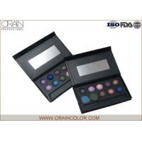 High Pigment 12 Shades Eyeshadow Palette in Cardboard Case , OEM Makeup Supplier