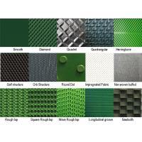 Heavy Duty Industrial PVC Conveyor Belt Round Dot / Rough Top Surface