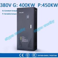 Buy cheap 400/450kw VFD G/P pump  motor AC drive CNC frequency converter Low Voltage frequency inverter Vector Control Transduce from wholesalers