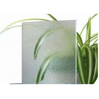 Room Decorative Tinted Glass , 4mm Thickness Coloured Patterned Glass For Balconies