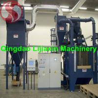 Buy cheap Q32 Rubber Belt Shot Blasting Machine/Cleaning sand blasting machine/used sandblasting equipment for sale from wholesalers