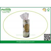 Buy cheap Napkin Round Cardboard Tubes , High End Cardboard Cylinder Containers from wholesalers