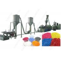 Buy cheap SGS Plastic Recycling Granulator Machine , PVC Compounding Granule Plastic Pellet Extruder from wholesalers