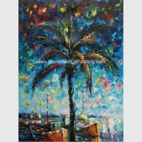 Buy cheap Hand Painted Palette Knife Oil Painting Seascape Gulf of Mexico Wall Art Decoration from wholesalers