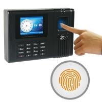 Buy cheap Fingerprint Scanner Mifare Card Web Based Time Recording from wholesalers