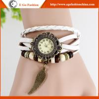 Buy cheap Vintage Watch Leather Watches Retro Watch Pendant Leaf Watches Female Watch Cheap Watch from wholesalers