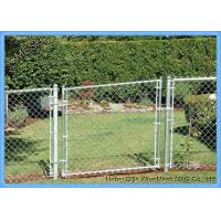 Buy cheap PVC Coated Security Chain Link Fence Mesh Fabric 8 Gauge 60 X 60mm Size from wholesalers