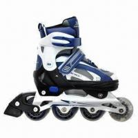 Buy cheap Inline Skates with EVA Foam Upper and Cold Resistance Aluminum Truck from wholesalers