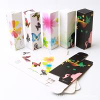 Buy cheap 350g white cardboard Lipstick tube color box packaging Four-color printing cosmetic package from wholesalers