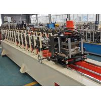 Buy cheap CE Passed Full Automatic Door Frame Roll Forming Machine With Hydraulic Cut product
