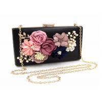 Elegant Flora Bridal Evening Clutch Bags 18 * 11 * 5cm  For Women