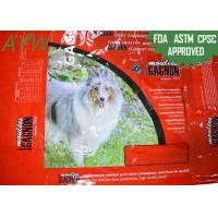 Buy cheap 30kg Heat Sealing Mylar Pet Food Bag Reclosable Moisture / Oxygen Proof from wholesalers