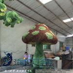 Buy cheap Outdoor Artificial Grass Garden Plants Boxwood Sculpture Mushroom Green Sculpture from wholesalers