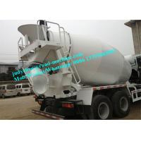 Buy cheap 6 x 4 Concrete mixing truck 380HP oncrete cement mixer truck SINOTRUK 8 CBM Volume Tank Cement Mixer Truck from wholesalers