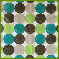 Buy cheap Printed ball designs table cloth made of 100% polyester woven fabric cloths from wholesalers
