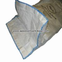 Buy cheap Industrial Solid PP Container Ton Bag / FIBC Jumbo Bags 37 x 37 x 47 or Customized from wholesalers
