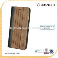 Buy cheap Wholesales wood wallet case for iphone 6 ,for iphone 6 plus wood wallet case from wholesalers