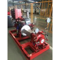Buy cheap Red Diesel Engine Driven Fire Water Pump , Shipyards Fire Protection Jockey Pump from wholesalers