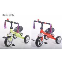 Buy cheap Cheap rubber wheels tricycle for kids with metal frame plastiic pedal tricycle for sale from wholesalers