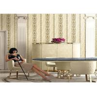 Buy cheap Hotel Project Contemporary Floral Print Wallpaper 1.06 Meter With Eco Friendly product