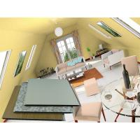 Buy cheap Green Anti - static Interior PVC Wall Panels Cladding Calcium Carbonate from wholesalers