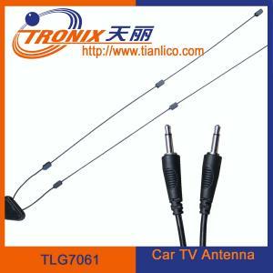 China 1 section mast car tv antenna/black tv antenna TLG7061 on sale