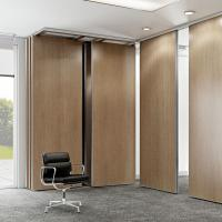Buy cheap Aluminum Sliding Wooden Partition Walls For Living Room / Hotel from wholesalers