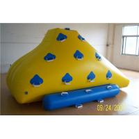 Buy cheap Funny Floating Water Toys , Inflatable Rock Climbing Wall For Water Leak Proof from wholesalers