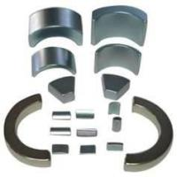 Buy cheap NdFeB Segment / Arc Magnet with N35, N38 grade NiCuNi,Epoxy coated for Servo motors from wholesalers