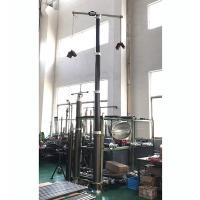 Buy cheap 6m lockable CCTV pneumatic telescopic mast / CCTV poles/ aluminum telescoping mast from wholesalers