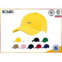 Buy cheap 100 Cotton Custom Caps Hats , Personalized Custom Fitted Baseball Caps For Man from wholesalers