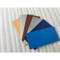 Buy cheap Glossy White / Black Aluminum Composite Material With High Impact Resistance from wholesalers