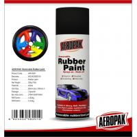 Buy cheap Black 400ml Rubber Based Spray Paint High Gloss Fast Drying And Easy To Remove from wholesalers