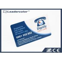 Buy cheap Standard Size Frosted Plastic Business Cards Scratch Off Panels from wholesalers