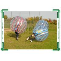 Buy cheap Transparent loopy ball soccer inflatable bubble suit with TPU from wholesalers
