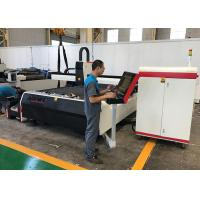 Buy cheap Taiwan HIWIN Linear Guide Fiber Laser Tube Cutting Machine 1500 X 3000mm Working Range from wholesalers