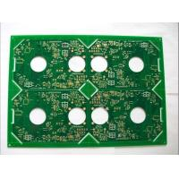 Buy cheap OEM 6 layer 6.0mm board aluminum base plating nickel gold pcb assembly prototype fabrication from wholesalers
