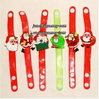 Buy cheap Buy 2014 Christmas gift for friends LED silicone wristband with factory price from wholesalers