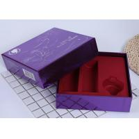 Buy cheap Retail Cosmetic Packaging Boxes / Silver Paper Box Lid And Base Style from wholesalers