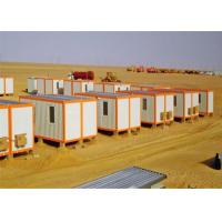 Buy cheap Decorated Sandwich Panel Flat Pack Conex Box Homes with Bathroom from wholesalers